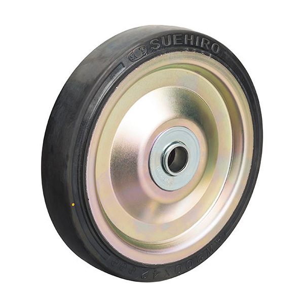 AWH型(プレス製ホイル高速ダンゴム車輪)