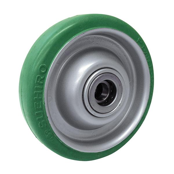 PG型(プレス製ホイルグリーンダンゴム車輪)