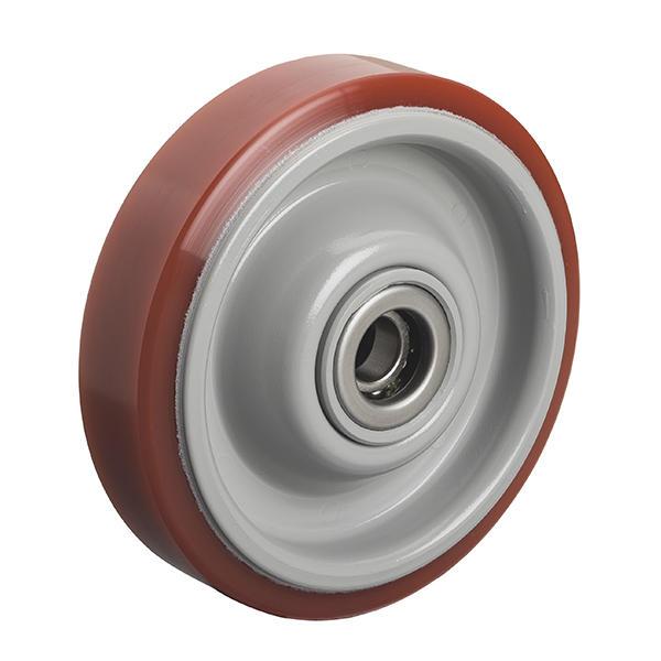 PU型(プレス製ホイルウレタン車輪)